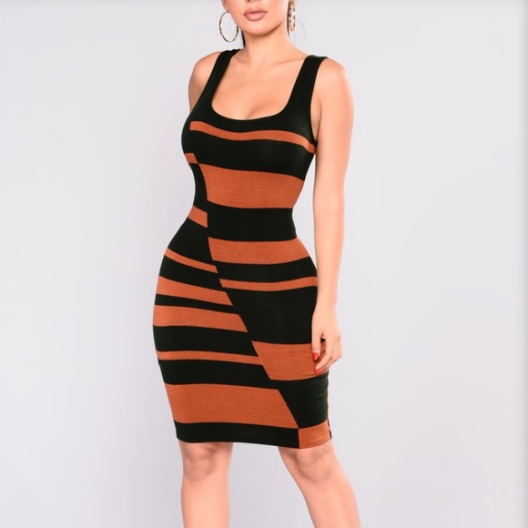 Fashion Nova knit Bodycon dress